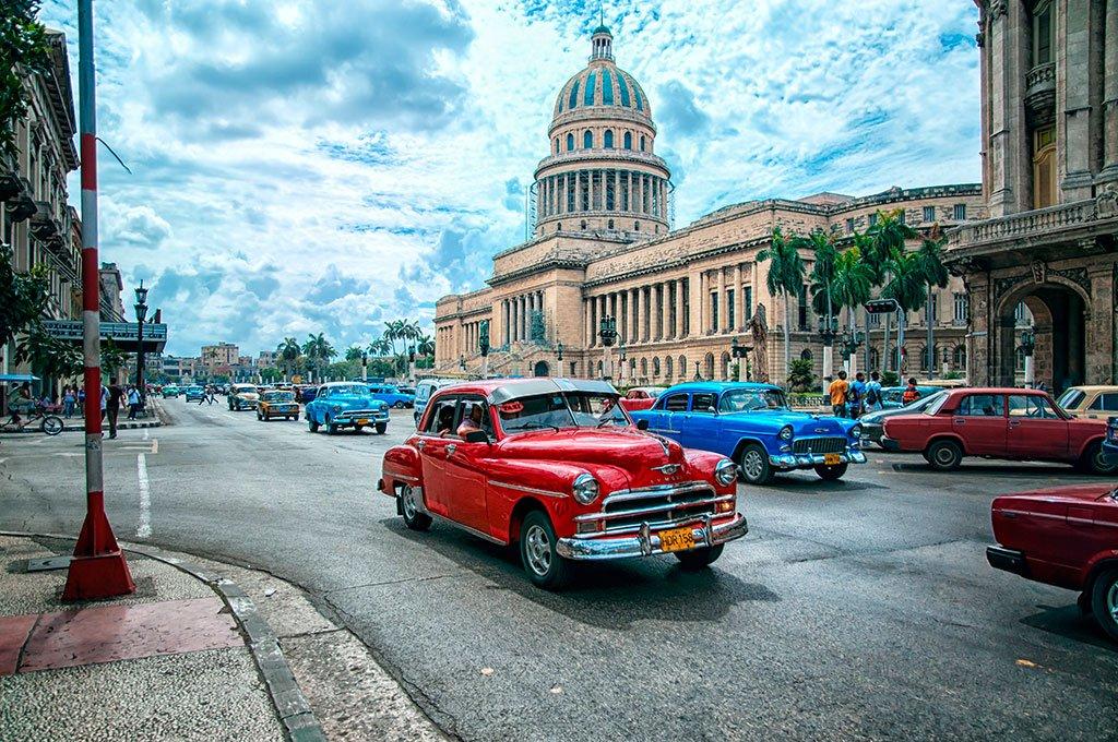 Куба - Советские автомобили