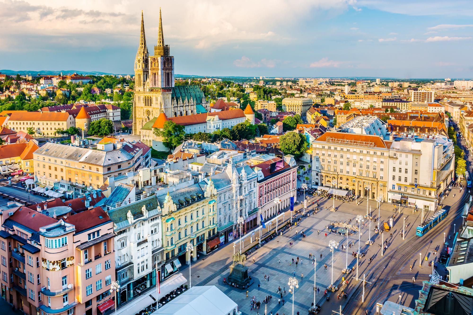 Архитектурные достопримечательности Загреба привлекают многих путешественников