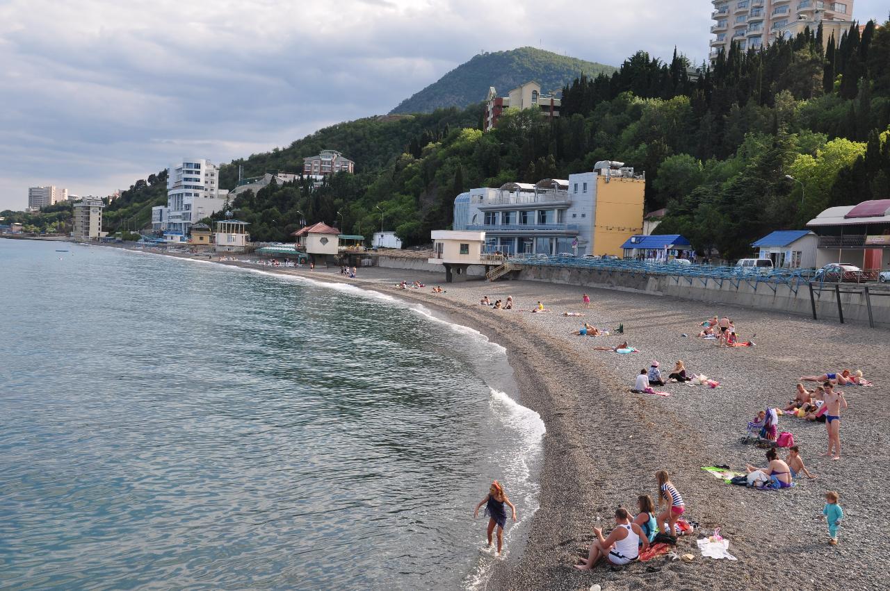 Казантип пляж фото речь