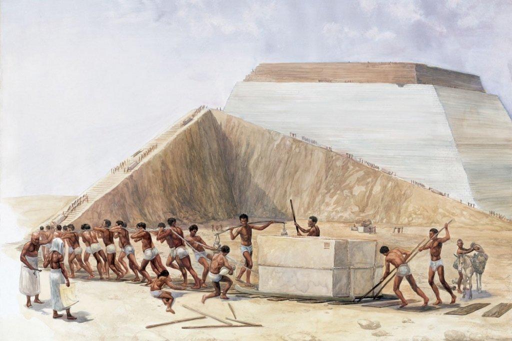 Строительство египетских пирамид доклад 5856