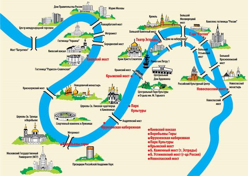 Куда впадает река яуза схема фото 671