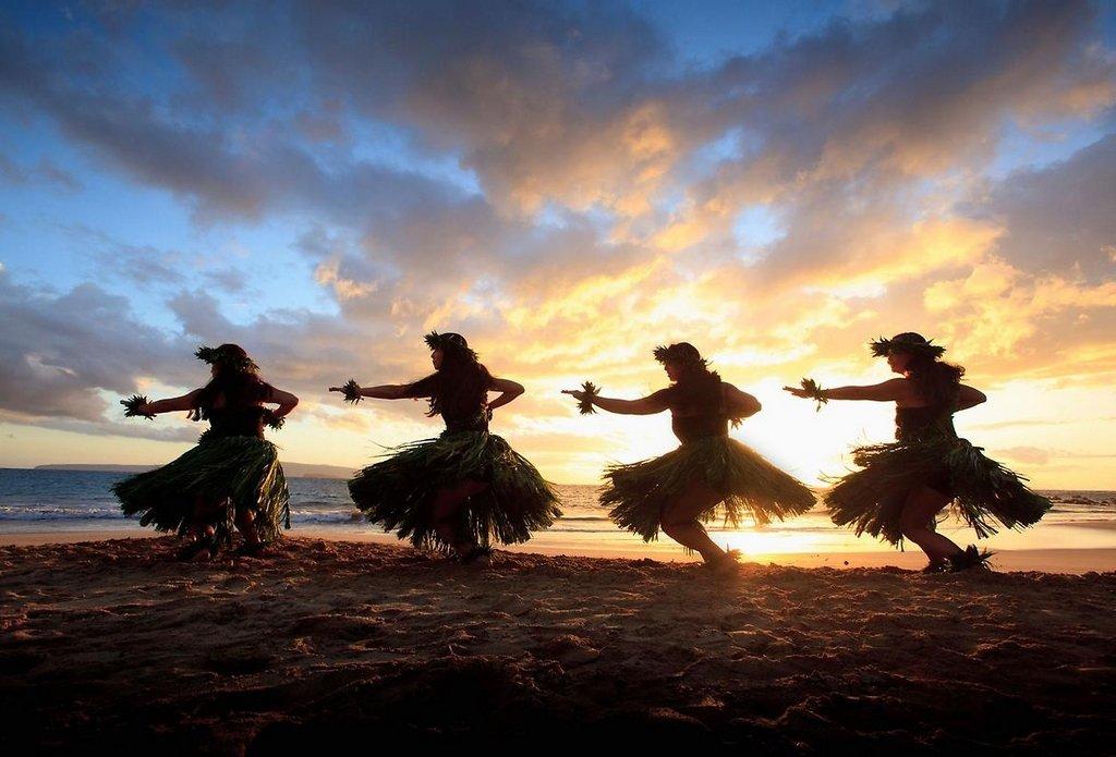 Картинка гавайские танцы