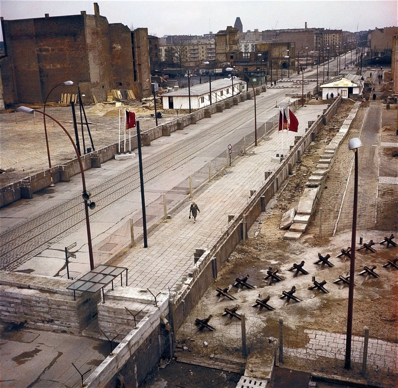 Берлинская стена с картинками