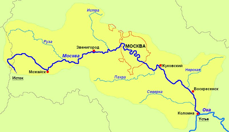 Moskva Reka Podrobnaya Informaciya S Foto