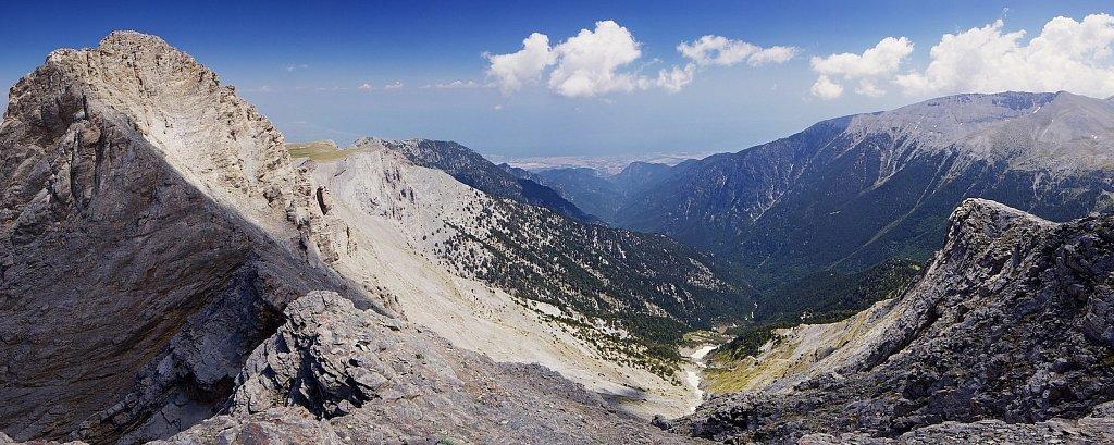 Горы в греции