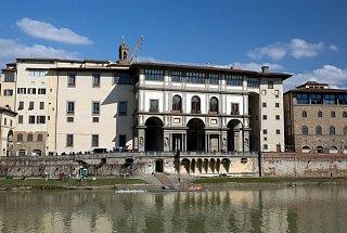 Дворец, построенный архитектором Джорджо Вазари