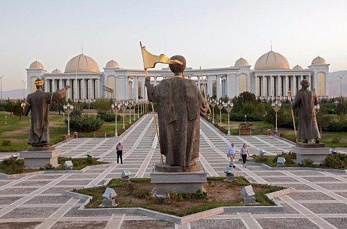 Дворцовый комплекс «Огузхан» в Ашхабаде