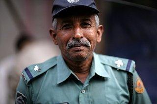 Полицейский в Бангладеш
