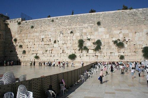 Разделение Стены Плача на две зоны