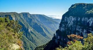 Каньон Форталеза на юге страны