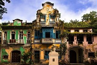 Колониальный стиль присутсвует в архитектуре многих городов Бразилии