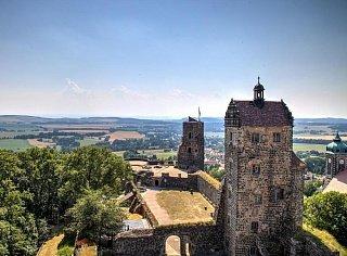 Лето в Германии (вид из крепости Штольпен)