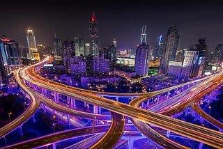 Многоуровневые дороги Шанхая