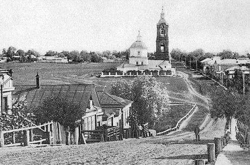 Саранск в начале XX века