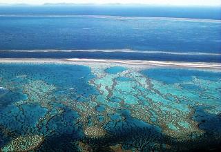 Большой Барьерный Риф с воздуха