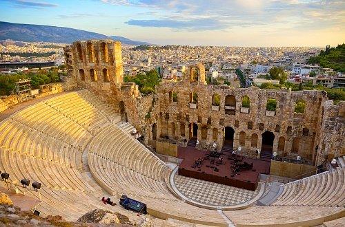Театр Одеон Геродота