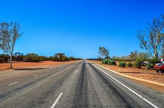 Дорога на западном побережье