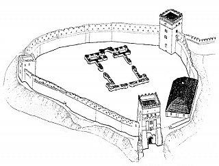 Замок Любарта Шестой строительный период
