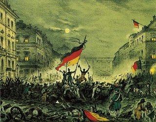 Либеральные и националистические давление привело к неудачной революции 1848 года