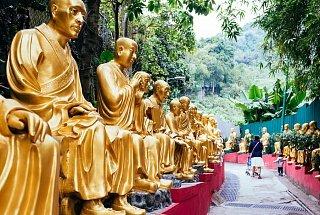 Храм был основан в 1951 г. учителем Юэт Кай