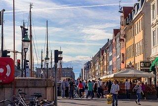 Улицы в Копенгагене