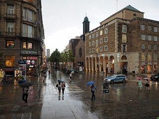 Дождь в Штутгарде