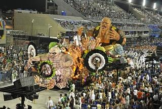 Самбодром в Рио-де-Жанейро