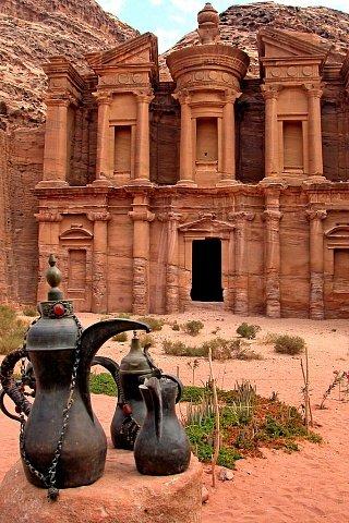 Монастырь Ад-Дейр в Петре Едем в Иорданию Едем в Иорданию 23 al dier petra