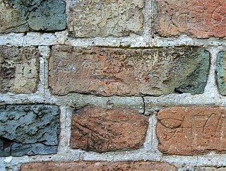 Замок Любарта Надписи на стенах
