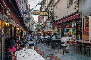 Улица Невизаде в Стамбуле