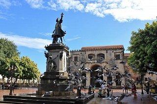 Памятник Колумбу в Санто-Доминго