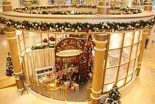 Рождество в Pacific Place