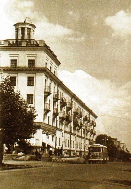 Саранск в 60-х