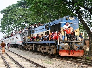 Поезд в Бангладеш