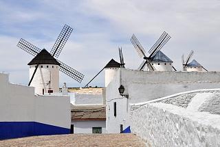 Ветряные мельницы в Кампо-де-Криптана.