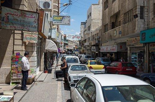 Улицы Аммана Едем в Иорданию Едем в Иорданию 4 ulitsi ammana