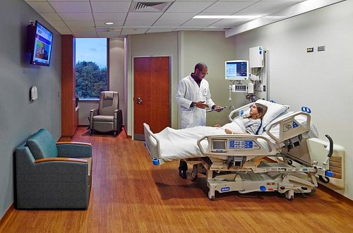 Holy Cross Germantown Hospital ICU
