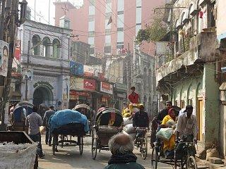 Велорикши в старой Дакке