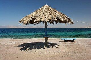 Пляж в Акабе Едем в Иорданию Едем в Иорданию 17 akaba beach