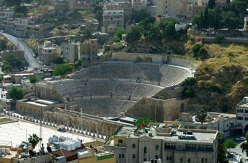 Римский амфитеатр в Аммане Едем в Иорданию Едем в Иорданию 2 roman amfiteatre