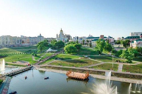Парк отдыха им. А. С. Пушкина в Саранске