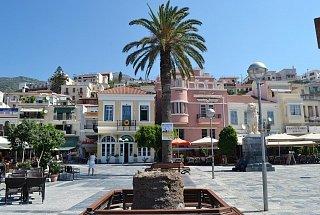 Площадь Пифагора в городе Вати на острове Самос