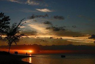 Закат на Маврикие