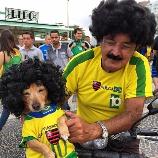 Бразильцы — очень патриотичная нация
