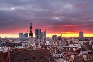 Утро в Таллине