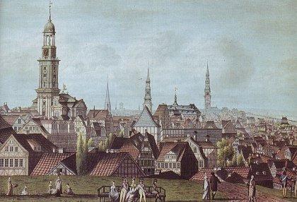 Гамбург 1811 года