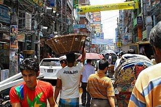 Улицы в Дакке