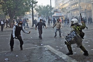 Беспорядки 2008 года в Афинах