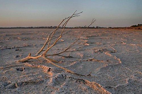 Высохшее озеро Ларнака