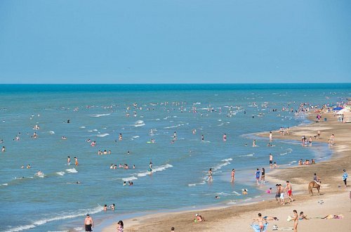 Пляжи Каспийского моря